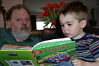 Reading with Grandad